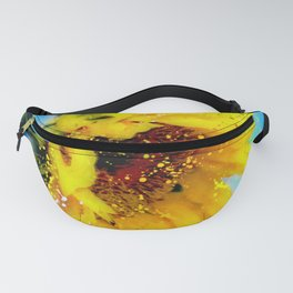 Essence of a Sunflower by Barbara Chichester 2016 Fanny Pack