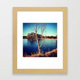 LONELY  Framed Art Print