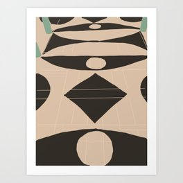 Marble Foyer Art Print