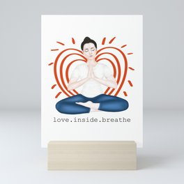love inside. Mini Art Print