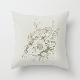Dead Spring Throw Pillow