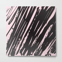 I spilled my chocolate! /geometric series Metal Print