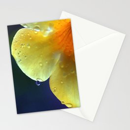 A drop of yellow Stationery Cards