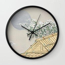 Kamisaka Sekka - House from Momoyogusa Wall Clock