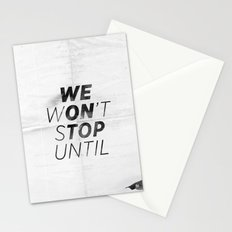 We On Top Stationery Cards