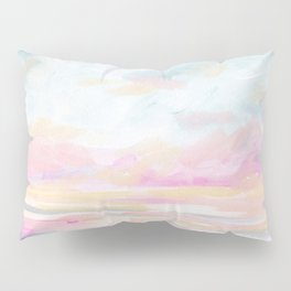 So Alive - Bright Ocean Seascape Pillow Sham