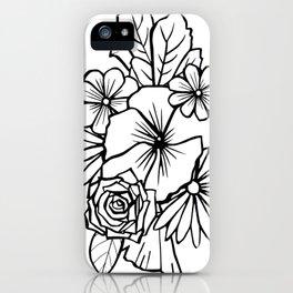 Rose Bouquet iPhone Case