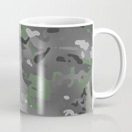 Camouflage: Arctic Green and Grey Coffee Mug