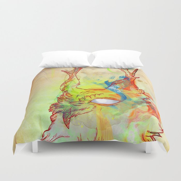 Turning Light Duvet Cover