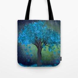 TREE OF BLUE Tote Bag