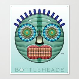 Bottlehead #11 Canvas Print