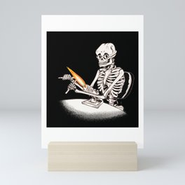 Skelly Flamerworker Mini Art Print