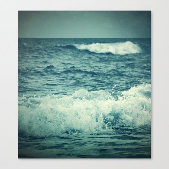The Sea IV. Canvas Print