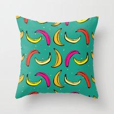 Tropic Banana Throw Pillow