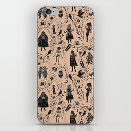 Creatures of the Night (orange) iPhone Skin