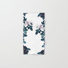 Blackberry Spring Garden - Birds and Bees Floral III Hand & Bath Towel