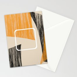 Abstract textured artwork II Stationery Cards