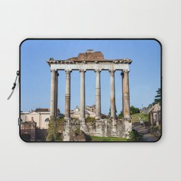 Temple of Saturn in the Roman Forum - Rome, Italy Laptop Sleeve