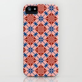 Folk Pattern iPhone Case