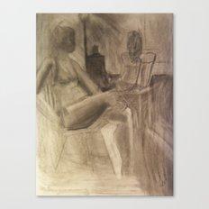 Studio Girls Canvas Print