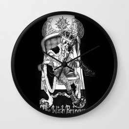 The King of Wishes Wall Clock