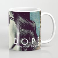 dope Mugs featuring DOPE by Davy Oldenburg