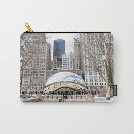 Wintry Bean Carry-All Pouch
