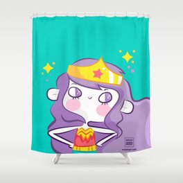 Girls Rule Shower Curtain
