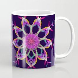 Colourful ribbons kaleidoscope Coffee Mug