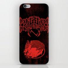 Decapitated by dishwasher III (red) iPhone & iPod Skin