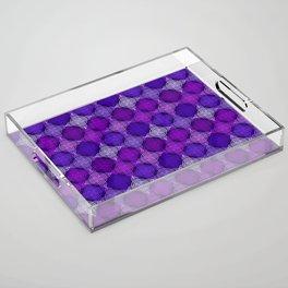 Op Art 158 Acrylic Tray