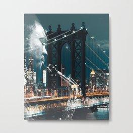 Jazz in New york Metal Print