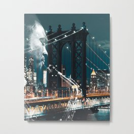 Jazz in New york Metal Print