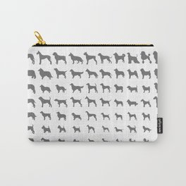 All Dogs (Grey/White) Carry-All Pouch
