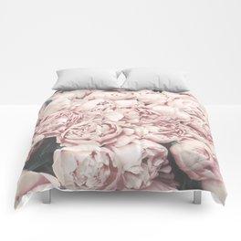 Peonies Comforters