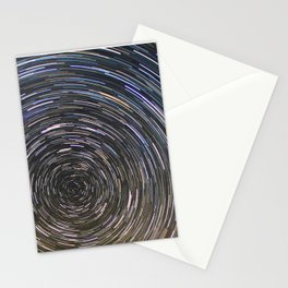 Star trails Stationery Cards