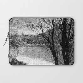 Impression in black and white 918 Laptop Sleeve