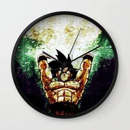 art goku Wall Clock