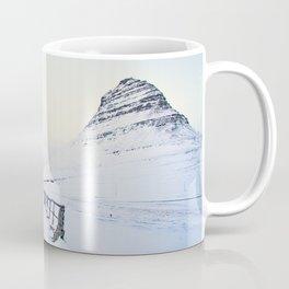 Kirkjufell- Icelandic Horses Coffee Mug