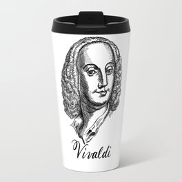 Antonio Vivaldi portrait Travel Mug