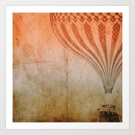 In the Air tonight Art Print