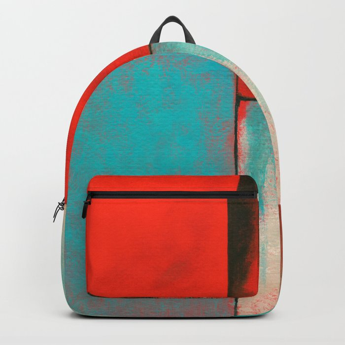 The Corners of My Mind, Abstract Painting Backpack
