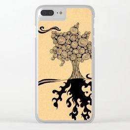 Stubborn Clear iPhone Case