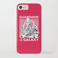 guardians of the galaxy iPhone & iPod Cases featuring Guardians by LilloKaRillo