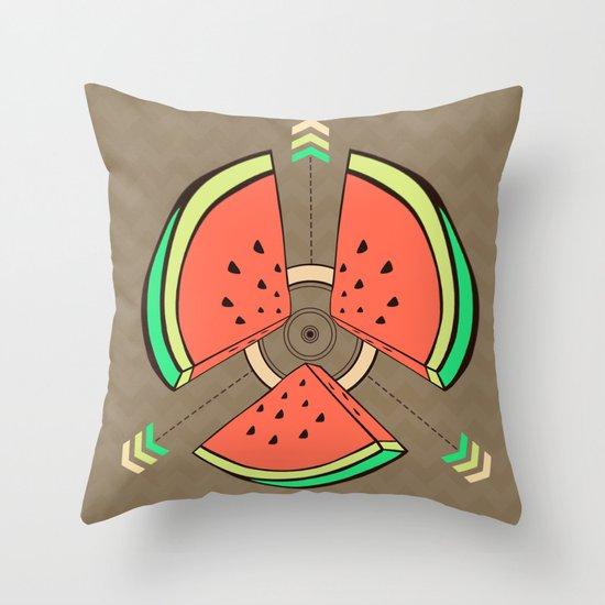 take a piece for peace Throw Pillow