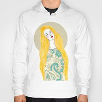 jessica lange Hoodies featuring Jessica by Juana Andres