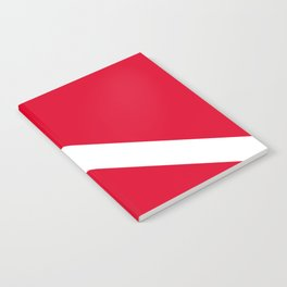 Diver Flag Notebook