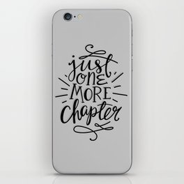 One More Chapter Minimalist iPhone Skin