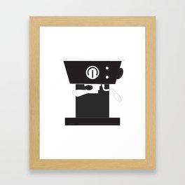 Caffeine Please Framed Art Print