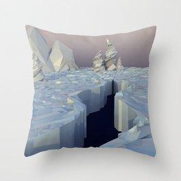 Boreally? Throw Pillow